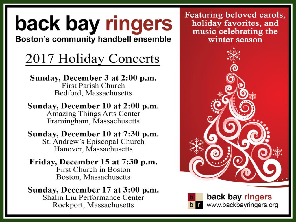 Winter concert dates