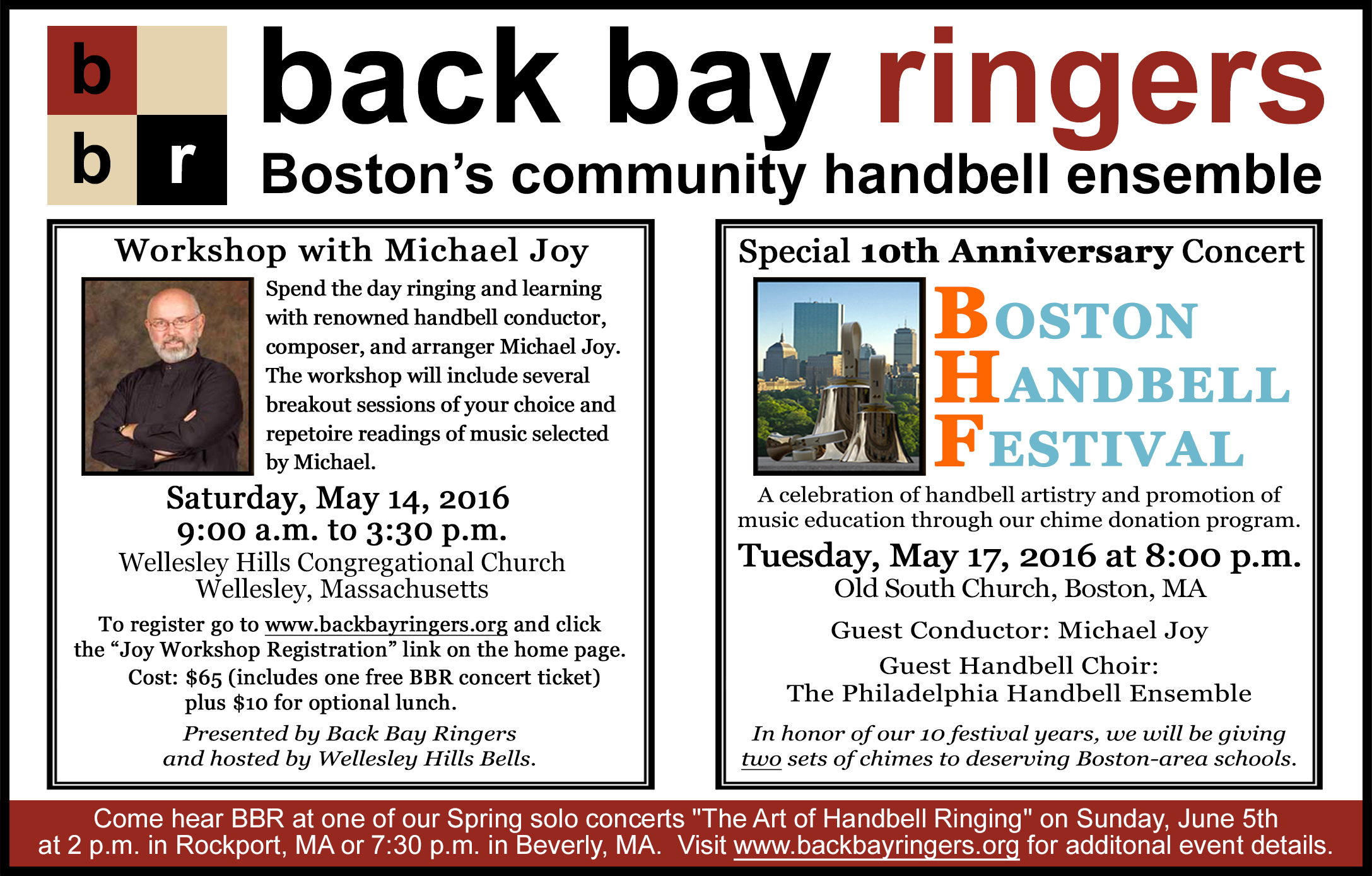 BBR Spring Events